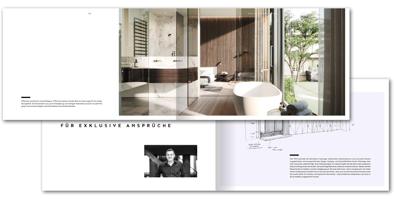 Broschüre OE, Markendesign für Immobilien