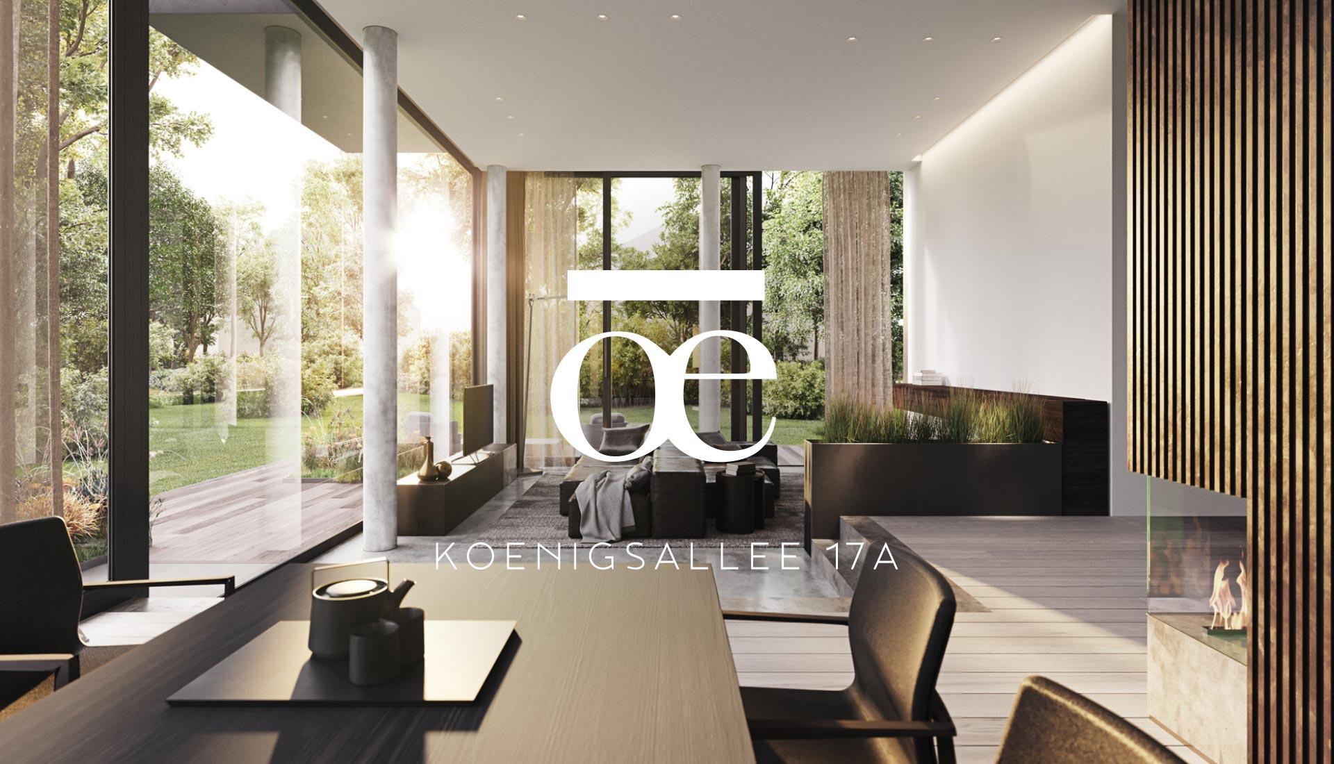 Markendesign für Eigentumswohnungen / Immobilien in Berlin Grunewald